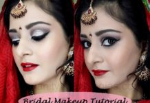 indian pakistani bridal makeup tutorial