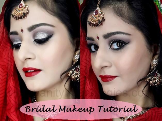 indian pakistani bridal makeup tutorial