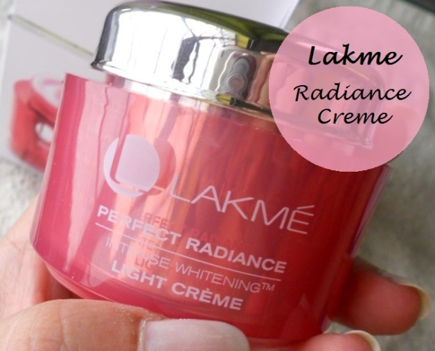 lakme perfect radiance intense whitening light creme review swatches photo