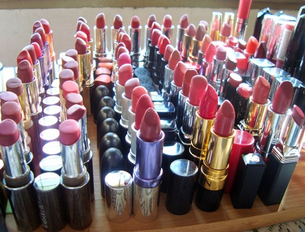 lipstick collection beauty blogger