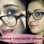 Tutorial: How To Apply Makeup for Girls Who Wear Glasses + Tips