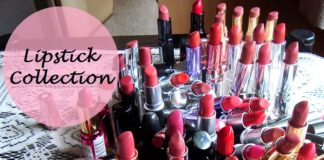 my lipstick collection india