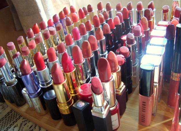 my lipstick lipgloss collection