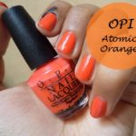 OPI Nail Lacquer Atomic Orange and Brights Collection Kit: Review and Swatches