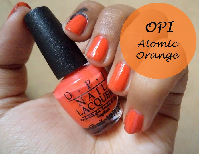 Opi Nail Lacquer Atomic Orange And Brights Collection Kit Review Swatches