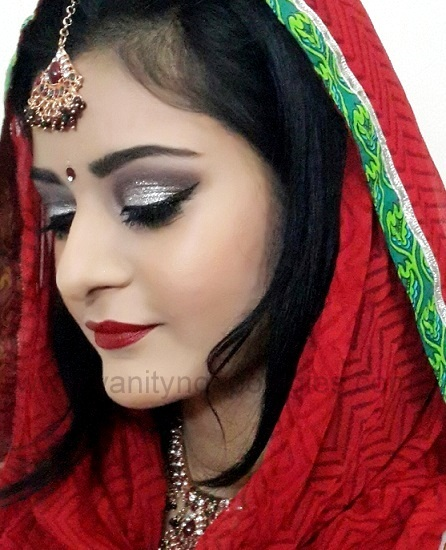 real indian bridal makeup look