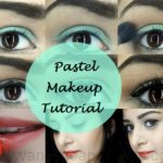 Tutorial: How To Spring Pastel Eye Makeup Look on Indian Skin