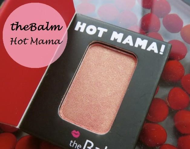 theBalm Hot Mama Shadow Blush Review