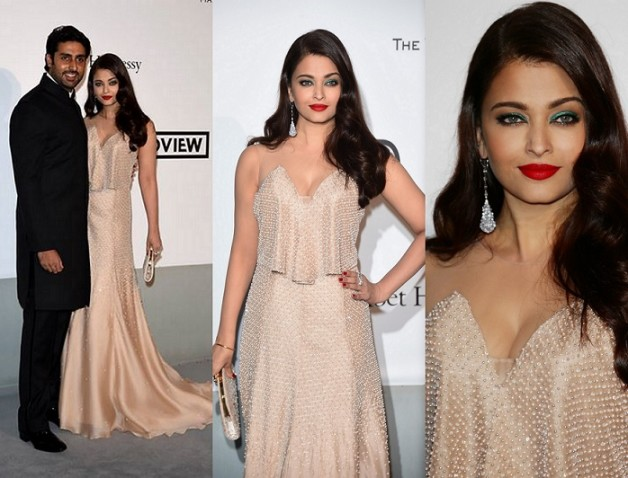 Aishwarya Rai Abhishek Bachchan The Search Premiere 67th Annual Cannes Film Festival