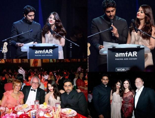 Aishwarya Rai Bachchan Armani Prive couture gown amfAR gala cannes 2014