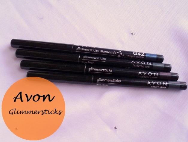 Avon Glimmersticks Eye Liners Textured Teal Majestic Plum Saturn Grey Twilight Sparkle Review swatches india