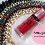Bourjois Rouge Edition Velvet Lipstick Velvet 02 Frambourjoise: Review and Swatches