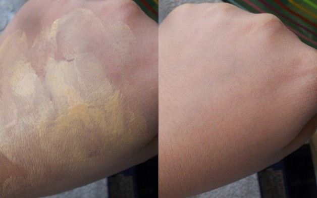 Estee Lauder Double Wear Stay in Place Makeup foundation review swatch before after