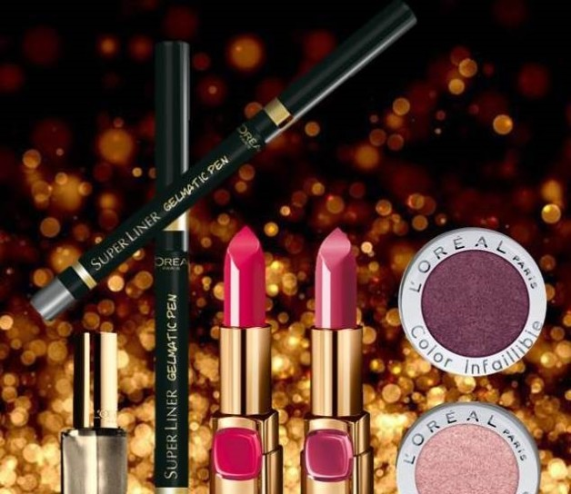 LOreal LOr Lumiere Cannes 2014 makeup collection