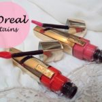 L'Oreal Paris Shine Caresse Lip Gloss Juliette and Bella: Review, Swatches and FOTD