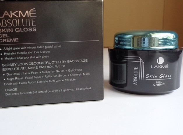 Lakme Absolute Skin Gloss Gel Creme review photo