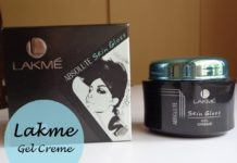 Lakme Absolute Skin Gloss Gel Creme review price