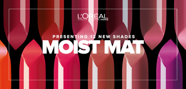 Loreal moist Matte lipsticks shades