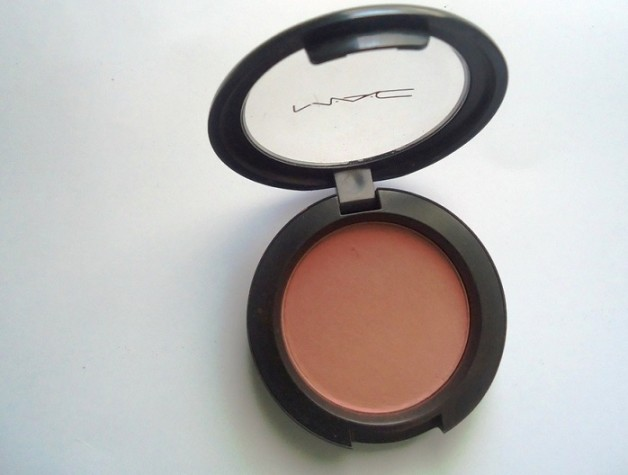 MAC Mocha Matte Blush review