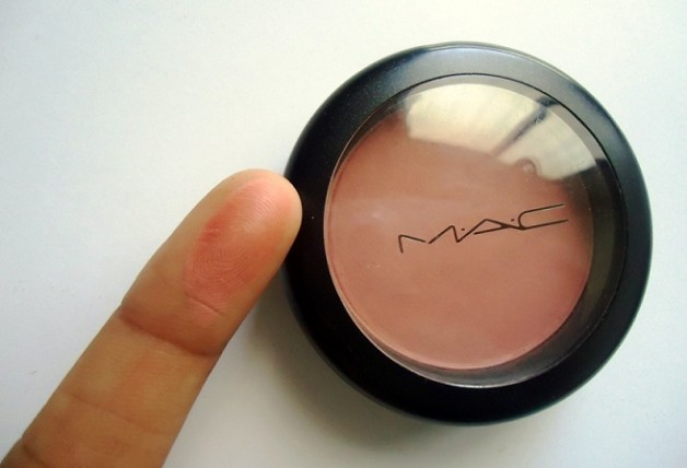 MAC Mocha Matte Blush review swatch