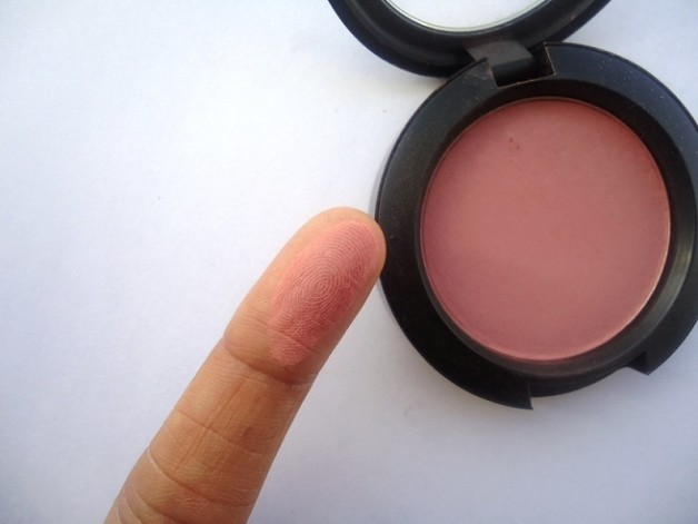 MAC Mocha Matte Blush review swatches