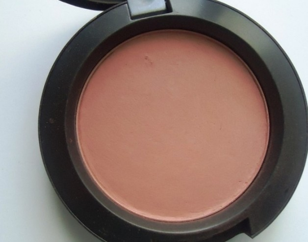 MAC Mocha Matte Blush review swatches blog