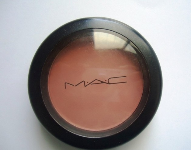 MAC Mocha Matte Blush review swatches india