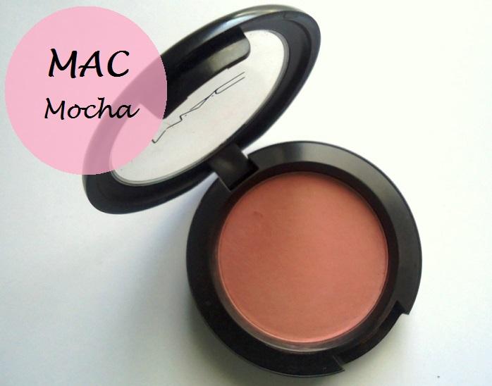 MAC Mocha Matte Blush review swatches photo