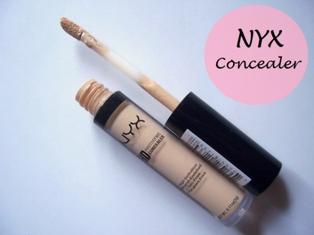NYX HD Photogenic Concealer Wand Review swatches india