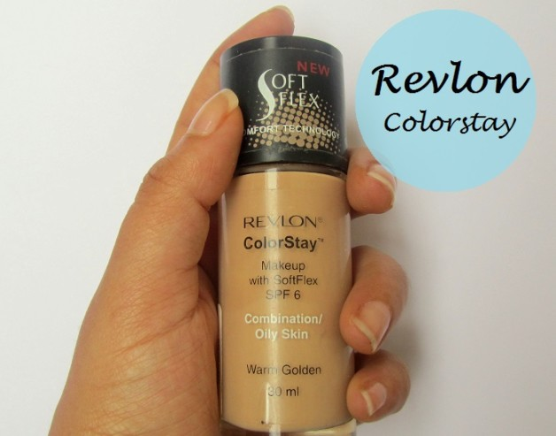 Revlon ColorStay Makeup Liquid foundation for Combination Oily Skin review swatches blog