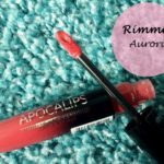 Rimmel London Show Off Lip Lacquer Apocalips Aurora: Review and Swatches