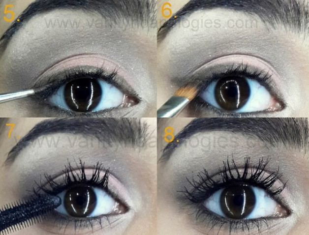 christian bridal eye makeup tutorial step by step