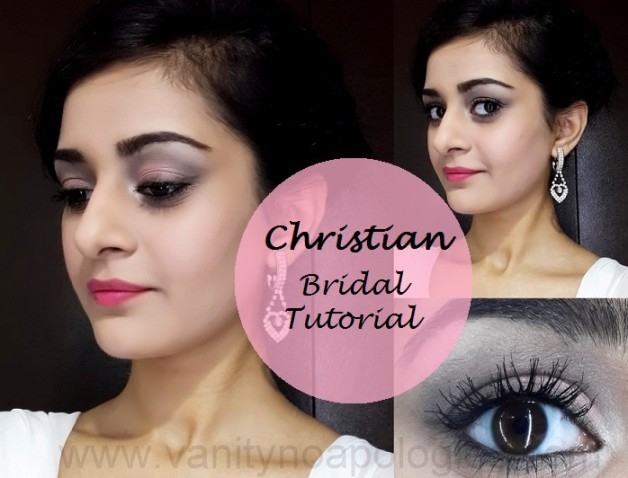 christian bridal makeup bright lips tutorial