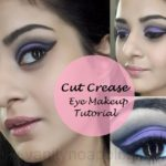 Tutorial: How To Easy Cut Crease Eye Makeup Look for Clubbing