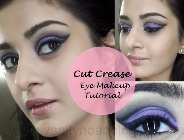 cut crease eye makeup tutorial step by step