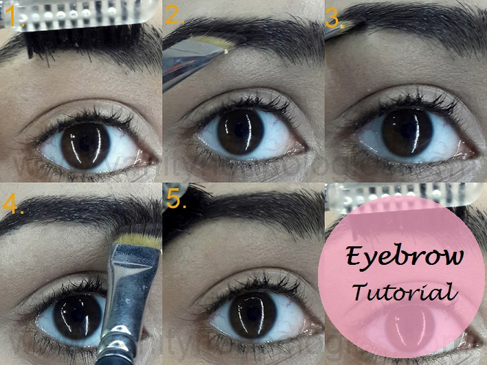 Tutorial How To Fill In Dark Eyebrows Without Eyeshadow Or Pencil