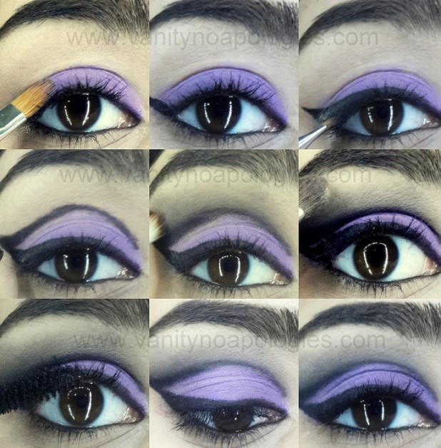 how to do cut crease eye makeup tutorial