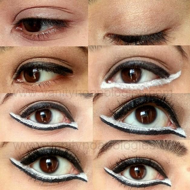 how to do eye makeup like kareena kapoor eyeconic white intervention tutorial