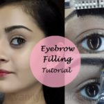Tutorial: How To Fill In Dark Eyebrows Without Eyeshadow or Pencil