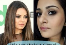 how to look like mila kunis tutorial step by step