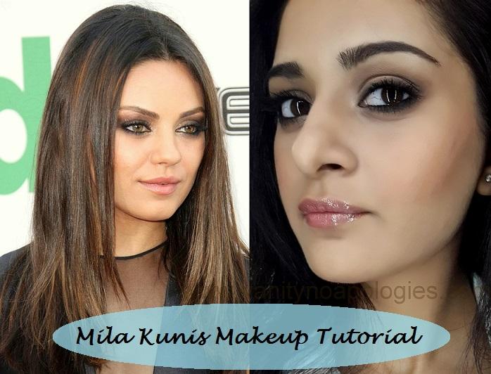 how to look like mila kunis tutorial step by step