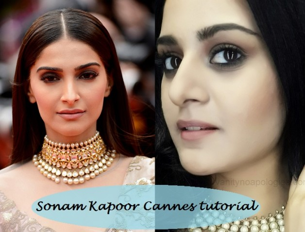 how to look like sonam kapoor at cannes film festival 2014
