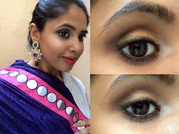 indian bridal makeup look eye makeup