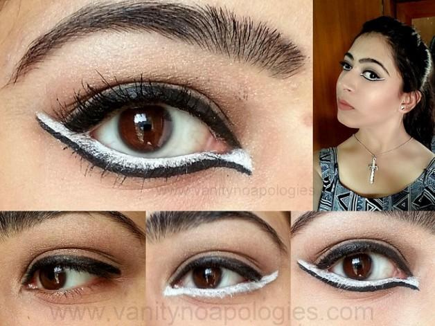lakme eyeconic white kareena ad makeup look tutorial