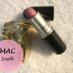 MAC Snob Satin Lipstick: Review, Swatches and Dupe
