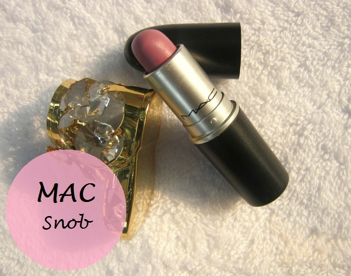 mac snob lipstick review swatches india