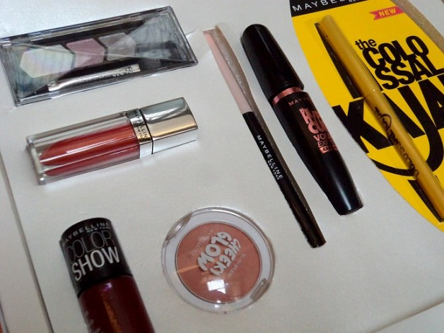 maybelline instaglam box review products price