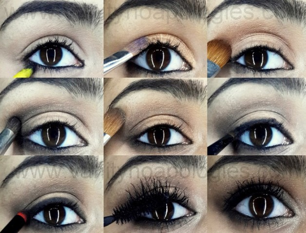 mila kunis eye makeup tutorial