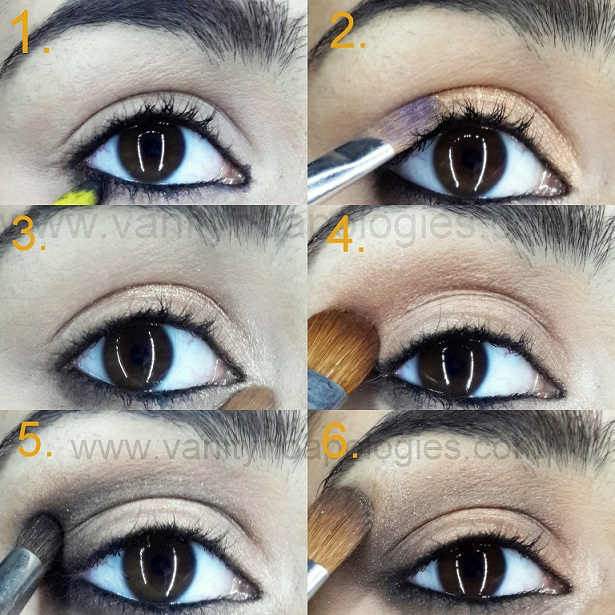 mila kunis eye makeup tutorial step by step
