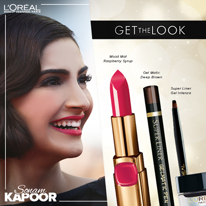sonam kapoor makeup breakdown cannes 2014